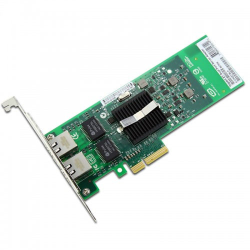 New Intel E1G42ET, Intel Gigabit ET Dual Port Server Adapter, Intel 82576 Controller, Gigabit Ethernet, Dual Port, RJ45 Copper