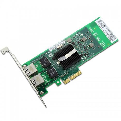 New Intel E1G42ET, Intel Gigabit ET Dual Port Server Adapter, Intel 82576 Controller, Gigabit Ethernet, Dual Port, RJ45 Copper