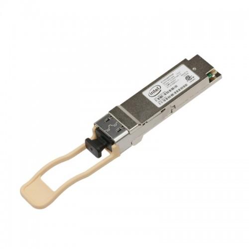 New Intel Original E40GQSFPSR, Ethernet QSFP+ Optics, 40GBASE-SR4, 40Gb/s, MPO12, 150m over MMF OM4