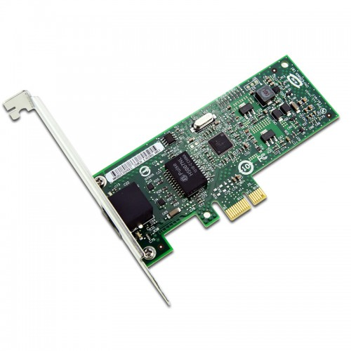 New Intel EXPI9301CT, Intel Gigabit CT Desktop Adapter, Intel 82574 Controller, Gigabit Ethernet, Single Port, RJ45 Copper