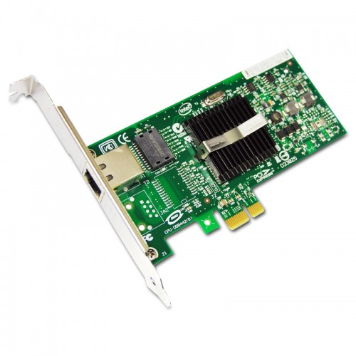 New Intel EXPI9400PT, Intel PRO/1000 PT Server Adapter, Intel 82572 Controller, Gigabit Ethernet, Single Port, RJ45 Copper