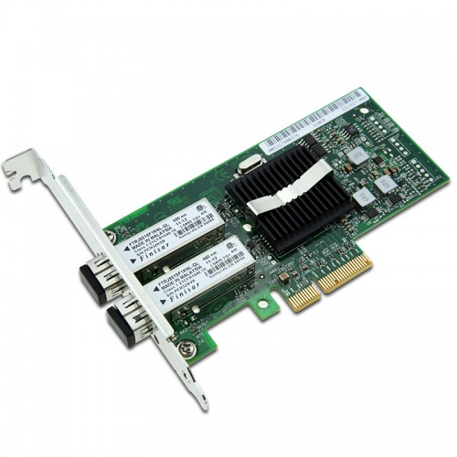 New Intel EXPI9402PF, Intel PRO/1000 PF Dual Port Server Adapter, Intel 82571GB Controller, Gigabit Ethernet, Single Port, LC MMF