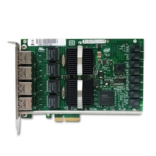 New Intel EXPI9404PT, Intel PRO/1000 PT Server Adapter, Intel 82572 Controller, Gigabit Ethernet, Quad Port, RJ45 Copper