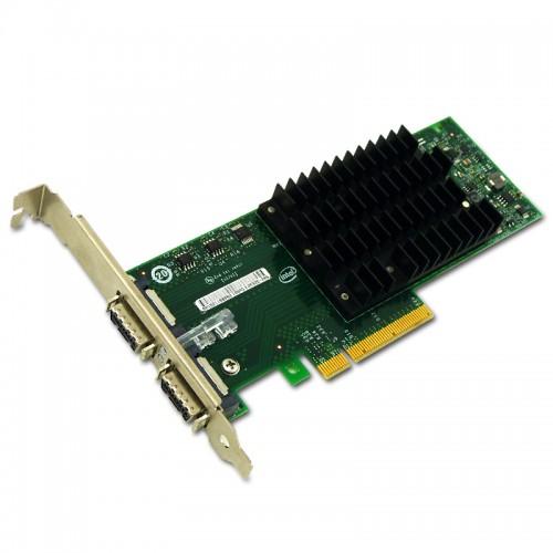 New Intel EXPX9502CX4, Intel 10 Gigabit CX4 Dual Port Server Adapter, CX4 Copper