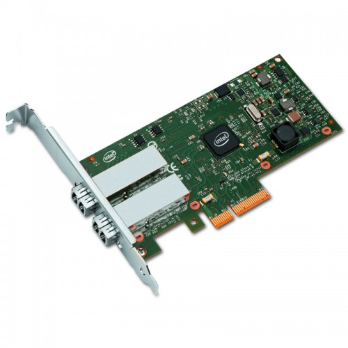 New Intel I350F2, Intel Ethernet Server Adapter I350-F2, Intel I350 Controller, Gigabit Ethernet, Dual Port, LC MMF