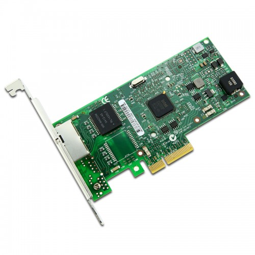 New Intel I350T2, Intel Ethernet Server Adapter I350-T2, Intel I350 Controller, Gigabit Ethernet, Dual Port, RJ45 Copper