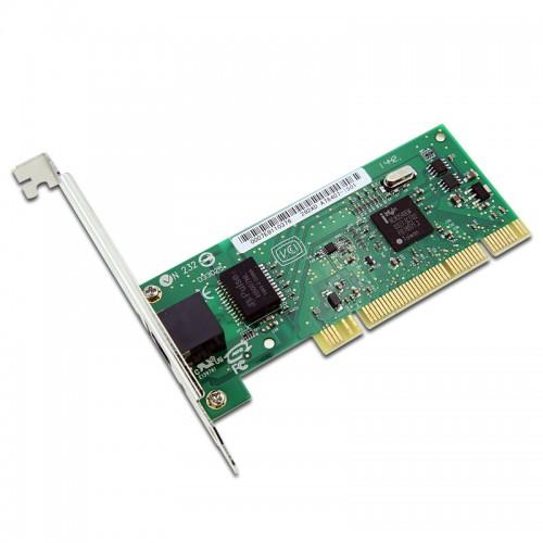 New Intel PWLA8390MT, Intel PRO/1000 MT Desktop Adapter, RJ45, 10/100/1000, PCI, 82540