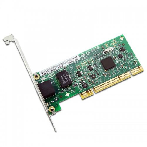 New Intel PWLA8391GT, Intel PRO/1000 GT Desktop Adapter, RJ45, 10/100/1000, PCI, 82541