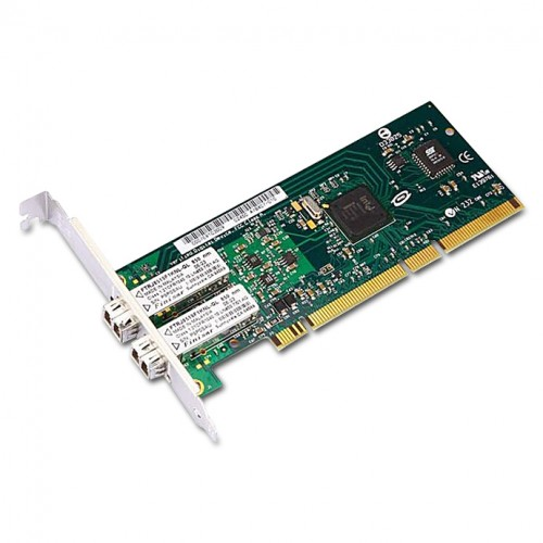 New Intel PWLA8492MF, Intel PRO/1000 MF Dual Port Server Adapter (SX Fiber), 2xLC, 1000Full, PCI-X, 82546