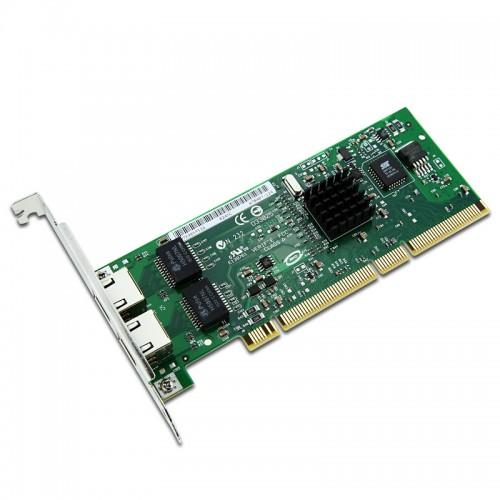 New Intel PWLA8492MT, Intel PRO/1000 MT Dual Port Server Adapter, 2xRJ45, 10/100/1000,PCI-X, 82546