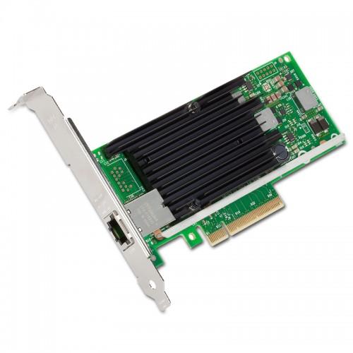 New Intel X540T1, Intel Ethernet Converged Network Adapter X540-T1, Intel X540 Controller, 10 GbE, Single Port, RJ45 Copper