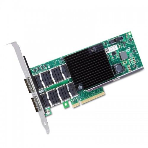 New Intel XL710QDA2, Intel Ethernet Converged Network Adapter XL710-QDA2, Intel XL710 Controller, 40GbE, Dual Port, QSFP+ DAC