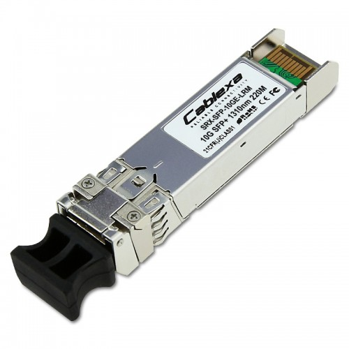 Juniper Compatible SRX-SFP-10GE-LRM, SFP+ 10 GbE LRM optics, 1310 nm for 220 m transmission