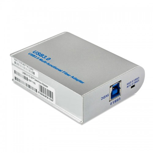 USB3.0 Gigabit Ethernet Fiber Network Interface Card, Realtek RTL8153-CG Chipset 1000Base-X Fiber NIC, Single GE SFP Port