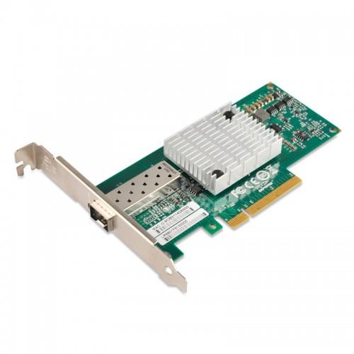 PCIe x8 10G Ethernet Fiber NIC, Mellanox ConnectX-2 Chipset 10GBase-SR/LR Server Network Adapter, Single SFP+ Port