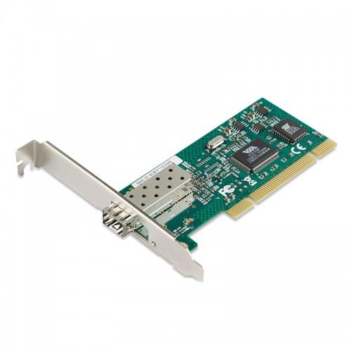PCI Fast Ethernet 100Base-FX Fiber Network Interface Card, VIA VT6105M Chipset Fiber NIC, Single FE SFP Port