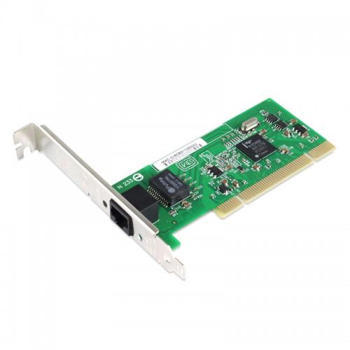 PCI Gigabit Ethernet Single RJ45 Port Network Interface Card, Intel 82540 Chipset Desktop Network Adapter