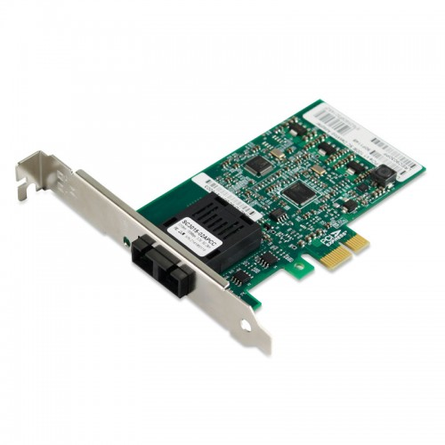 PCIe Fast Ethernet 100Base-FX Fiber Network Interface Card, Intel 82574 Chipset PCIe x1 Fiber NIC, Single SC Port, SMF