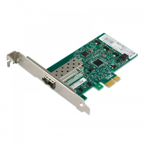 PCIe Fast Ethernet 100Base-FX Fiber Network Interface Card, Intel 82574 Chipset PCIe x1 Fiber NIC, Single FE SFP Port