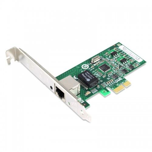 PCIe Gigabit Ethernet Single RJ45 Port Network Interface Card, PCI Express x1 Intel 82574 Chipset Desktop Network Adapter