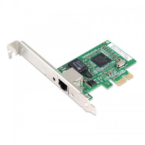 PCIe Gigabit Ethernet Single RJ45 Port Network Interface Card, PCI Express x1 Broadcom BCM5751 Chipset Desktop Network Adapter