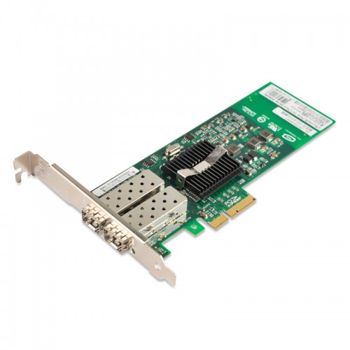 PCIe x4 Gigabit Ethernet Fiber NIC, Intel 82576 Chipset 1000Base-X Server Network Adapter, Dual GE SFP Port