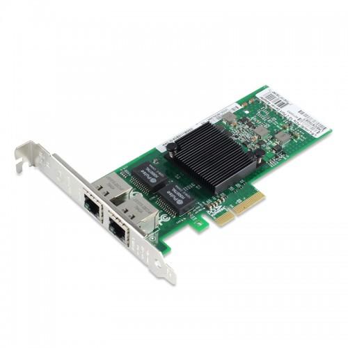 PCIe Gigabit Ethernet Dual RJ45 Port Network Interface Card, PCI Express x4 Intel 82576 Chipset Server Network Adapter
