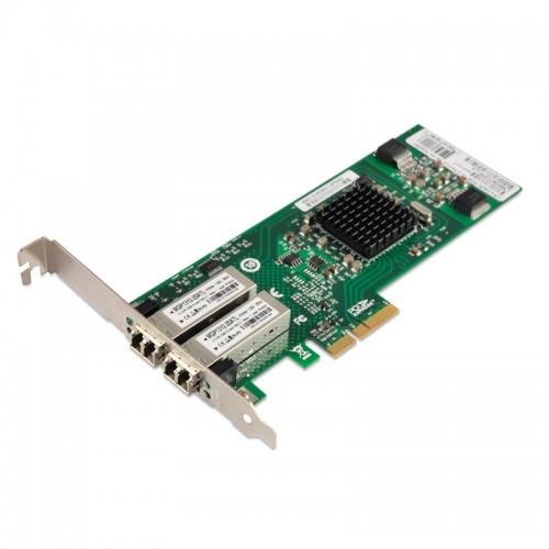 PCIe x4 Gigabit Ethernet Fiber NIC, Broadcom 5715 Chipset 1000Base-LX SM Server Network Adapter, Dual LC Port