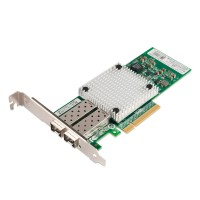 PCIe x8 10G Ethernet Fiber NIC, Intel 82599 Chipset 10GBase-SR/LR Server Network Adapter, Dual SFP+ Port