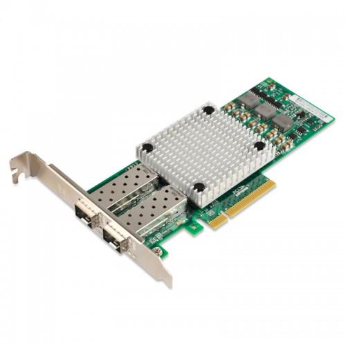 PCIe x8 10G Ethernet Fiber NIC, Broadcom BCM57810S Chipset 10GBase-SR/LR Server Network Adapter, Dual SFP+ Port