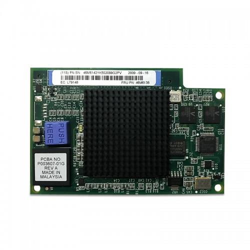 New Original Emulex 8Gb Fibre Channel Expansion Card (CIOv) for IBM BladeCenter, 46M6142