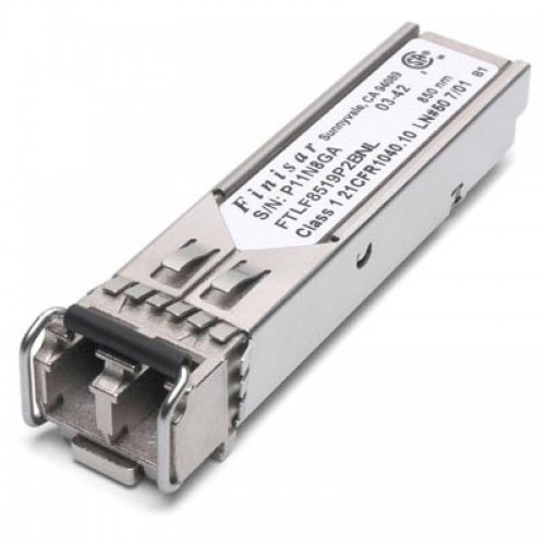 New Original Finisar 1000BASE-SX and 2G Fibre Channel (2GFC) 500m Industrial Temperature SFP Optical Transceiver