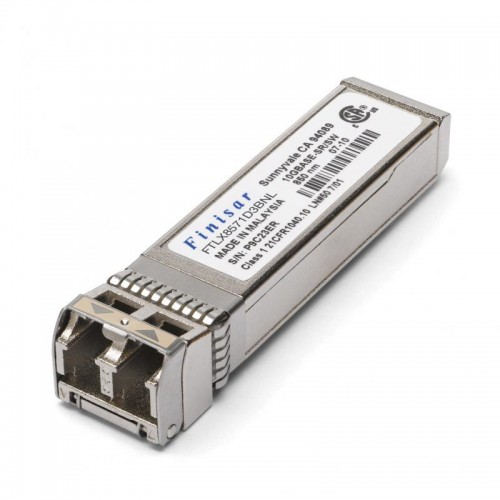 New Original Finisar 10GBASE-SR 300m SFP+ Extended Temperature Optical Transceiver