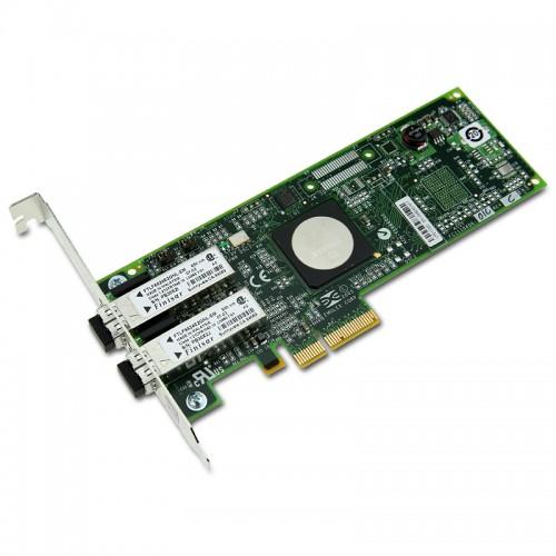 New Original Emulex 4Gb/s Dual Channel Fibre Channel PCI Express Host Bus Adapter