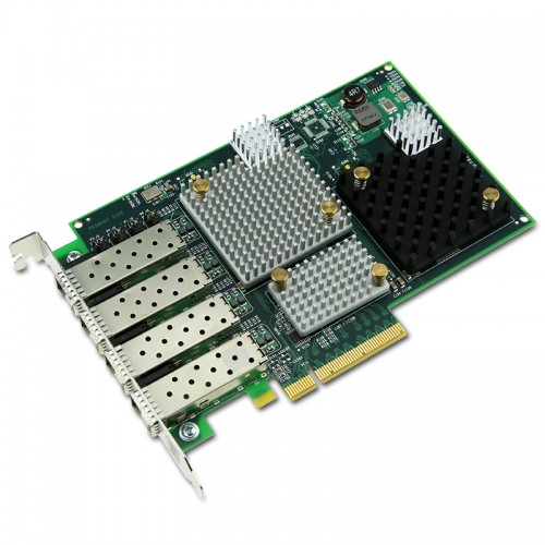 New Original Emulex 8Gb/s Fibre Channel PCI Express Quad Channel Host Bus Adapter