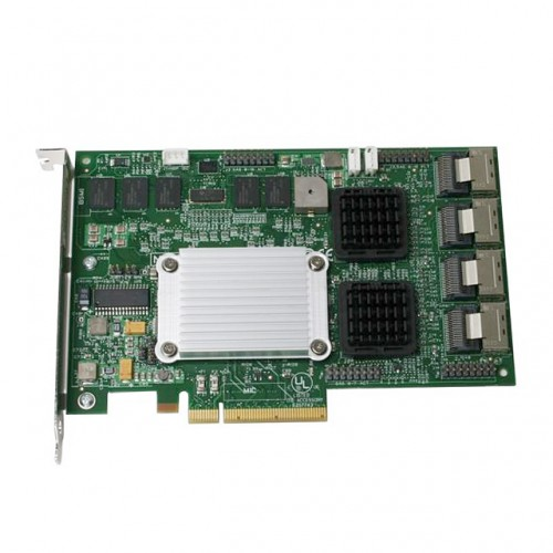 LSI Logic MegaRAID SAS 84016E 16-port 3Gb/s PCI Express SAS+SATA RAID HBA Controller Card