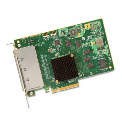 LSI SAS 9201-16e 16-port (4x SFF-8088) External 6Gb/s SATA SAS HBA