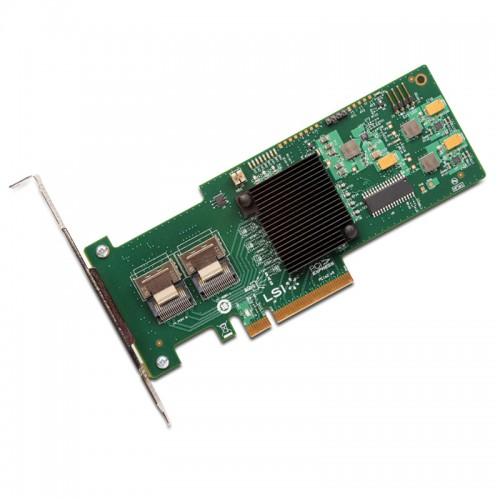 LSI MegaRAID SAS 9240-8i -8-port PCI-Express 6Gb/s SATA SAS RAID controller