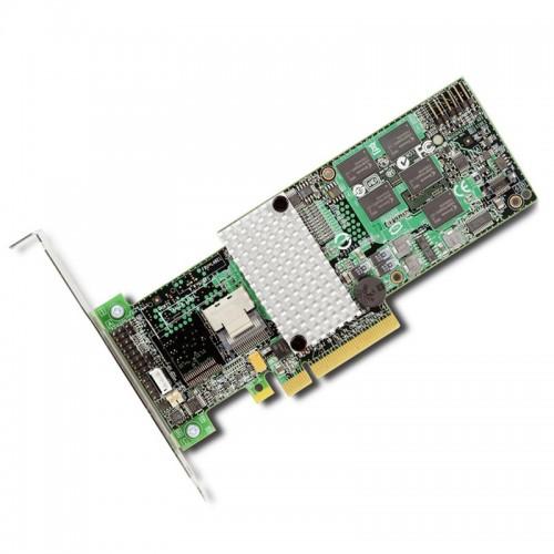 LSI MegaRAID SAS 9260-4i Low-profile MD2 four-port internal 6Gb/s PCIe SATA SAS RAID controller