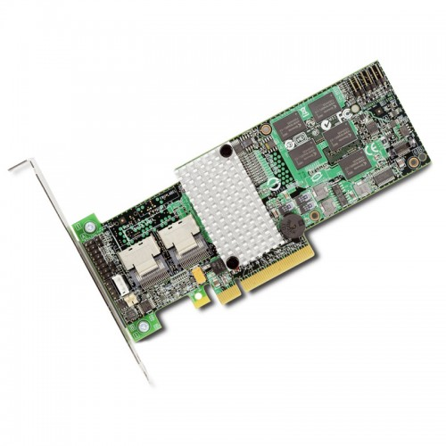 LSI MegaRAID SAS 9260-8i Low-profile MD2 eight-port internal 6Gb/s PCIe SATA SAS RAID controller