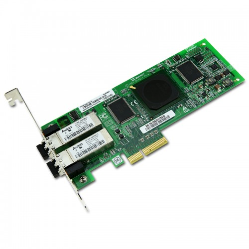New Original QLogic SANblade QLE2462 Dual-Port PCIe-to-4Gbps Fibre Channel Adapter