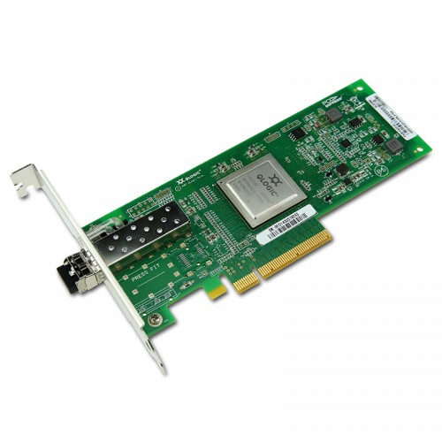 New Original QLogic QLE2560 Single-Port PCIe-to-8Gbps Fibre Channel Adapter
