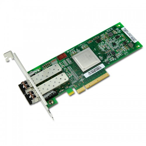 New Original QLogic QLE2562 Dual-Port PCIe-to-8Gbps Fibre Channel Adapter