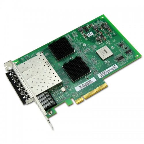 New Original QLogic QLE2564 Quad-Port PCIe-to-8Gbps Fibre Channel Adapter