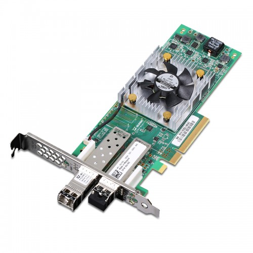 New Original QLogic PCI EXPRESS 16GB Dual-Port Fibre Channel Adapter, 430-4970