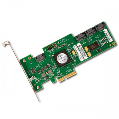 LSI SAS 3041E-R PCI Express, 3Gb/s, SAS, 4-port internal Controller Card
