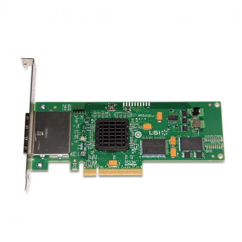 LSI SAS 3801E External 8-Port (2x SFF-8088) PCI-E 3GB/s Mini SAS Host Bus Adapter