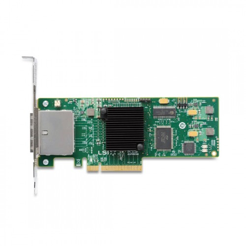 LSI SAS 9200-8e 8-port external 6Gb/s SAS+SATA to PCI Express Host Bus Adapter