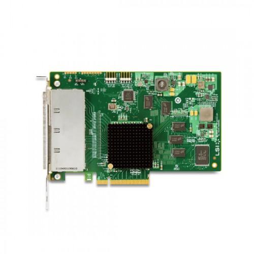 LSI SAS 9201-16e 16-port external 6Gb/s SAS+SATA to PCI Express Host Bus Adapter, H5-25379-00