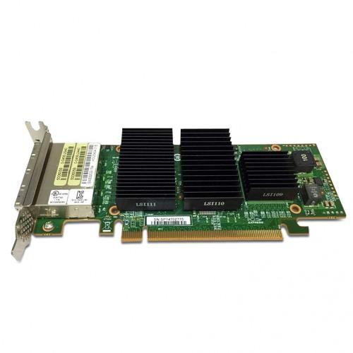 LSI SAS 9202-16e 16-port external 6Gb/s SAS+SATA to PCI Express Host Bus Adapter